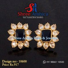 Find the best luxury and heritage jewellery married with outstanding craftsmanship in 92.5 silver, and CZ Diamonds at Shree Ambica - Your Trusted Jewellers. Pick this for the upcoming festive/wedding season. Readily available in stock For Price and Details Message on - +919866110500 #ShreeAmbica #TrustedJewellers #SilverJewellery #indianbride #indianwedding #jewelryaddict #handcraftedjewellery #finejewellery Silver Jewelry, Fine Jewelry, Jewellery, Wedding Season, Handcrafted Jewelry, Festive, Studs, Diamonds, Jewels