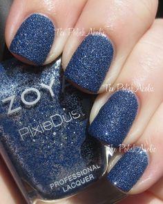 Zoya Sunshine. The PolishAholic: Zoya Fall 2013 PixieDust Collection Swatches