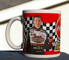 Coca-cola Racing Family Coffee Mug Coke Official Soft Drink Nascar Bobby Labonte