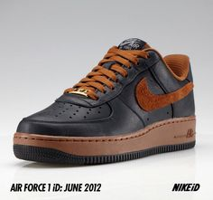 timeless design 7e7ff 95525 Air Force 1 ID Pioneer Leather Air Force 1, Nike Air Force Ones, Af1
