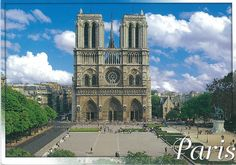 Pictures and Postcards from Paris, France - Romania Web Collection Paris Vu Du Ciel, Parvis, Romania, Big Ben, Notre Dame, Facade, Places To Visit, France, Building