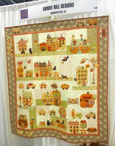 Pumpkinville Pattern from Bunny Hill Designs