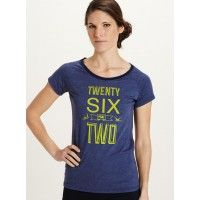 Spell out your love for the twenty six point two in the Tabloid Marathon Raglan.