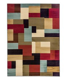 Another great find on #zulily! Red River Rug by Infinity Home Source #zulilyfinds