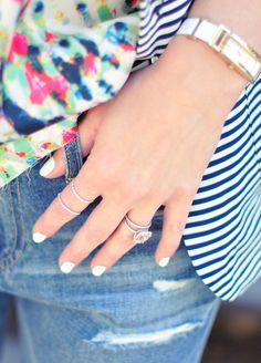 How-to: Perfect White Manicure
