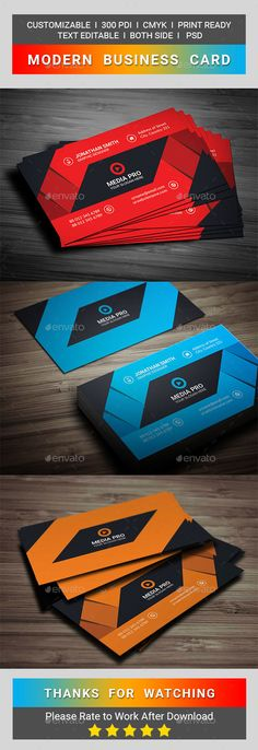 Modern business card business cards business and template reheart Images