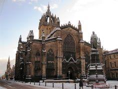 Edimburgo (Escocia) catedral de Saint Giles http://maleta-en-mano.blogspot.com.es/2014/04/edimburgo-old-town.html