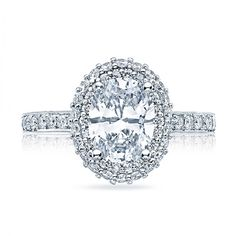 Engagement ring by Tacori