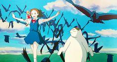 Neko no ongaeshi, The Cat Returns, Haru, Baron Humbert von Gikkingen, Muta