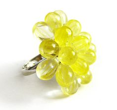Love this ring for summer!  It would be perfect with my white fit and flare dress! :)  Lemon Berry Ring - Limited Edition Summer Cocktail Ring