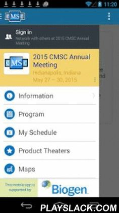 CMSC Annual Meeting 2015  Android App - playslack.com , The 2015 Annual Meeting of the Consortium of Multiple Sclerosis Centers (CMSC) will be held on May 27 - 30 at the JW Marriot Hotel in Indianapolis, Indiana. Our meeting is unique in bringing together all groups committed to improving the lives of people with MS: neurologists, radiologists, physiatrists, other medical specialists, clinical researchers, basic scientists, nursing professionals, rehabilitation specialists, mental health…