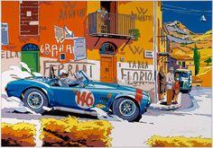 Cobra at Targa Florio