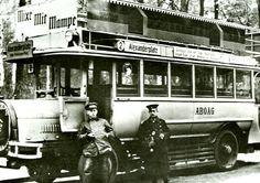Berliner Omnibus der ABOAG in den 20ern