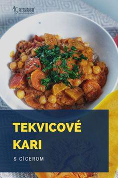 Výborný vege jedlo, ktoré môžeš pripraviť zo surovín, ktoré máš práve doma. Chana Masala, Ethnic Recipes, Food, Cilantro, Essen, Meals, Yemek, Eten