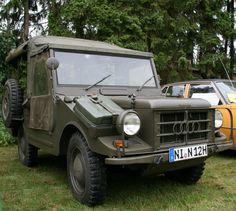 DKW Munga German Army