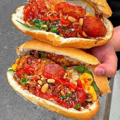 Love U So Much, Hot Dogs, Extreme Food, Tasty, Breakfast, Cosmic, Ethnic Recipes, Ford, Korean Food