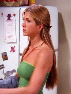 Rachel Green Outfits, Estilo Rachel Green, Rachel Green Style, Rachel Green Hair, Hair Inspo, Hair Inspiration, Jenifer Aniston, Jennifer Aniston Hair Friends, Estilo Hippy