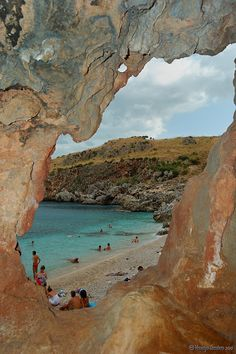 Scopello, Sicily by Vincenzo Giordano, province of Trapani Sicily region Italy
