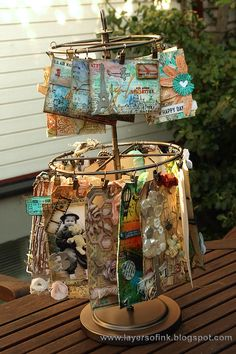 Mixed Media Envelopes Tutorial by Anna-Karin for the Simon Says Stamp Monday challenge (Anything Goes)