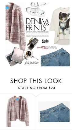 """Denim & prints"" by mada-malureanu ❤ liked on Polyvore featuring Vivienne Westwood, Diemme, D&G, Sheinside and shein"
