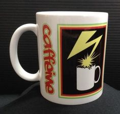 BAD BRAINS - 11 oz Ceramic Coffee Cup Mug CAFFEINE Hardcore Punk Album DEATH
