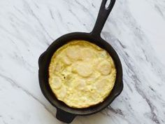 Spanish Tortilla : This potato-heavy frittata goes two rounds in your skillet: first to fry the potatoes, then to cook the eggs.