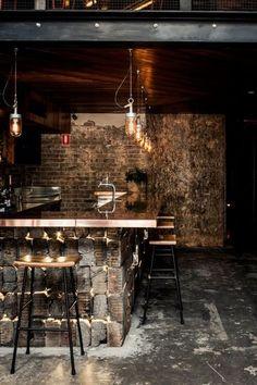 Shortlisted: best bar design  Donny's Bar (NSW) by Luchetti Krelle.