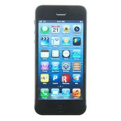 Apple iPhone 5 (Latest Model) - 16GB - Black & Slate (AT) Smartphone