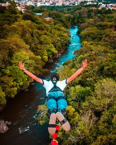 Bungee Jumping Read more about Bungee JumpingYou can find Bungee jumping and more on our website.Bungee Jumping Read more about Bungee Jumping Places To Travel, Places To Go, Bungee Jumping, Recreational Activities, Just Dream, Before I Die, Travel Design, Travel Aesthetic, Extreme Sports