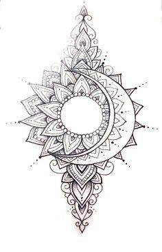 beautiful mandala tattoo are in the right place for tattoos mandalas mandalas Henna Tattoos, Body Art Tattoos, New Tattoos, Sleeve Tattoos, Cool Tattoos, Tatoos, Awesome Tattoos, Pretty Tattoos, Tree Of Life Tattoos