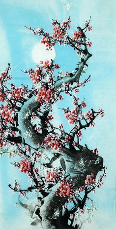 Chinese Painting: Plum Blossom - Chinese Painting CNAG233889 - Artisoo.com