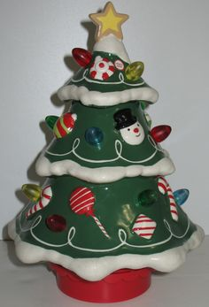 Love this Hallmark Christmas tree with lights, sound and motion! #hallmark #christmas #christmastrees
