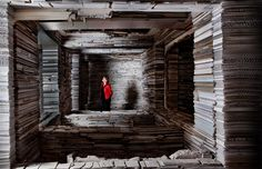 The amazing and claustrophobic work of Marjan Teeuwen spaces | Wake-Up