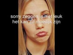 ▶ sorry zeggen - YouTube