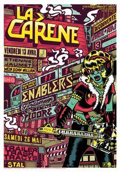 LA CARENE x Poster Series on Behance