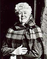 "Dorothy Dunnett, my absolute favorite novelist. Her plots are intricate, historical detail precise, and grasp of human nature unsurpassed. I have to laugh when people hold up writers like Hemingway or Updike as ""great,"" because they could not have held a candle to Dunnett's work."