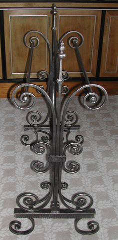 Wrought Iron Duvet Stands