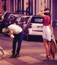 Nina Dobrev and Ian Somerhalder.