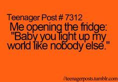 It depends wats INSIDE the fridge