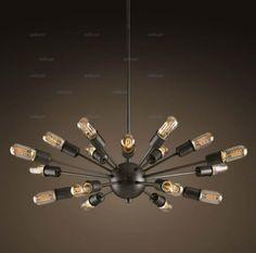 462- Led Pendant Lights 18 Heads Atomic Starburst Light Sputnik Lamp Chandelier Mid Century Modern Eames Pendant Lamp Suspension Vintage Lighting Dinning Room Drum Pendant Lighting From Willlustr, $544.51| Dhgate.Com