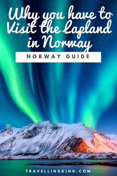 Why You Have To Visit The Lapland In Norway Travel Tips Norway Travel Guide Norway Travel Norway Guide Norway Fun Things To Do Norway Bucket List Norway Travel Guide Things To Do Norway Things To Do In Norway Weekend Guide Norway Travel Guide, Europe Travel Guide, Travel Guides, Travel Destinations, Travel Packing, Travel Bags, Lofoten, Travel Alone, Winter Travel
