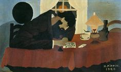 Amish Letter Writer by Horace Pippin