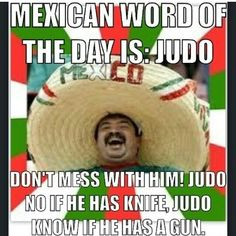 Mexican Word of the Day - Judo