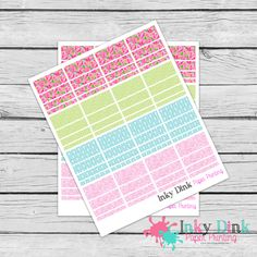 New to InkyDinkPrinting on Etsy: Rose Sticker Washi Tape Full Sheet Planner Stickers Erin Condren Happy Planner Plum Planner Sticker Sampler EC Life Planner Limelife WS-14 (5.00 USD)
