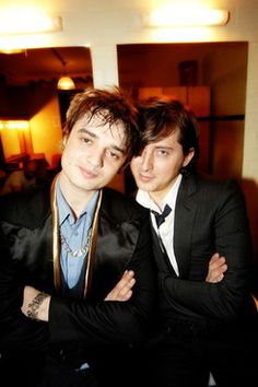 Pete Doherty and Carl Barat Photo: Roger Sargent