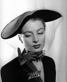 Capucine, 1952.