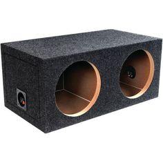 "ATREND E15D BBox Series Dual Sealed Bass Box (15"")"