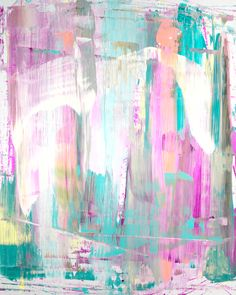 810 stretched print on canvas- teal, $575.00 by Lindsay Cowles Fine Art