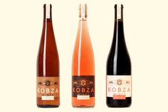Kobza Wines on Packaging of the World - Creative Package Design Gallery