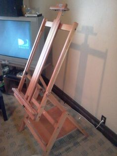 Jack Richeson H-frame Artists Easel / Eucalyptus Wood
